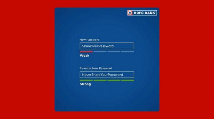 New Password creatives