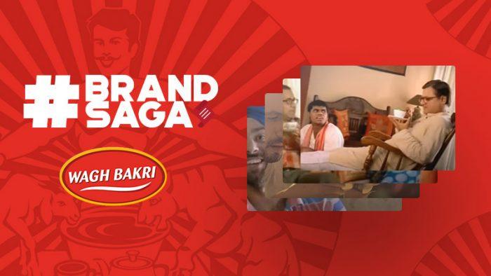 Wagh Bakri Tea advertising journey