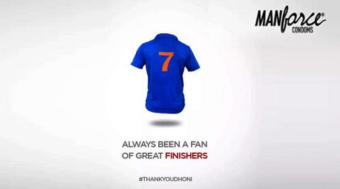 #ThankYouDhoni brand posts