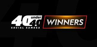 Social Samosa 40 Under 40 Winners