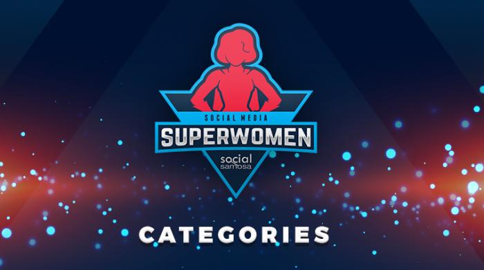 #Superwomen2020 categories