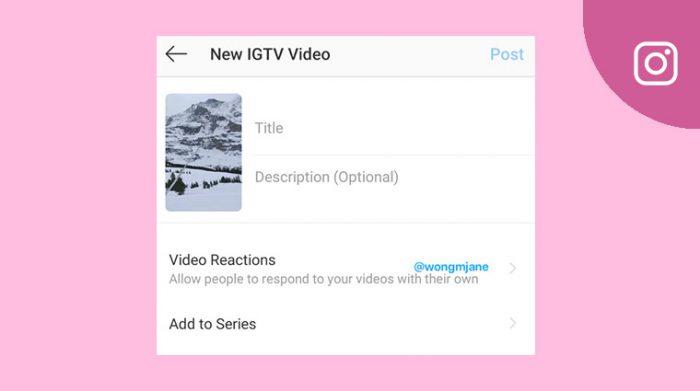 Instagram IGTV update 2020