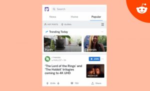 Reddit Launches New Ad Unit Trending Takeover Internet