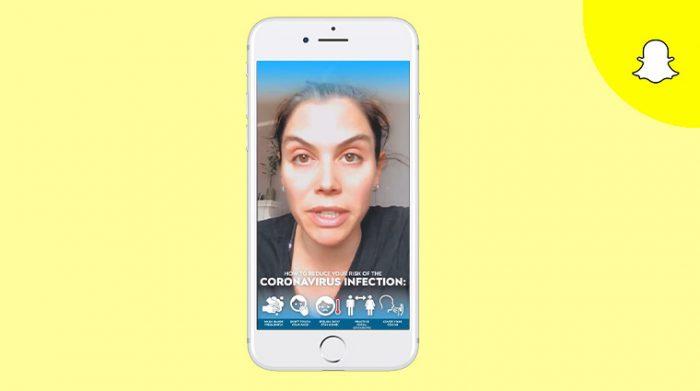 Snapchat COVID-19