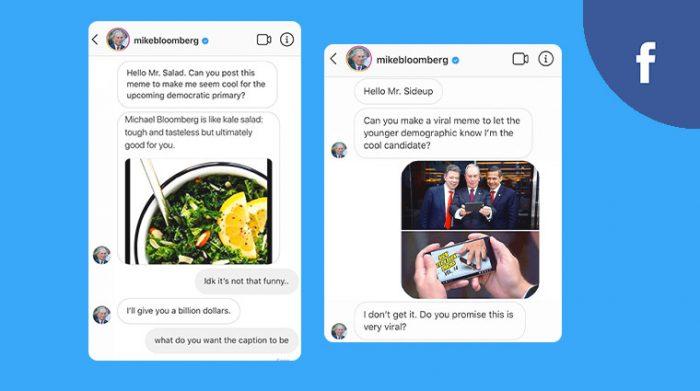 Facebook Political Content dashboard