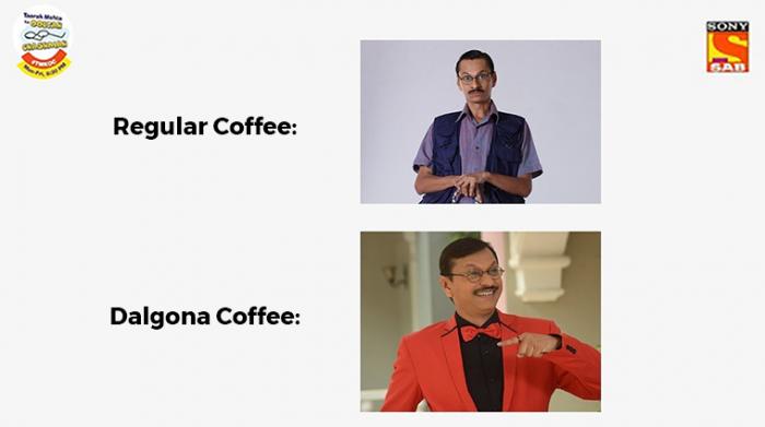 Dalgona Coffee brand posts
