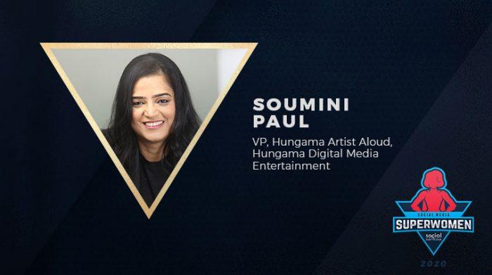 Superwomen 2020 winner Soumini Paul
