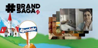 Alpenliebe advertising journey