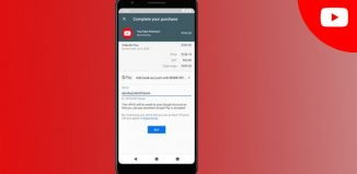 YouTube payment