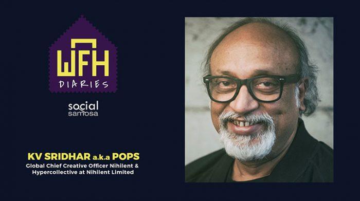 WFH Diaries K.V.Sridhar a.k.a Pops