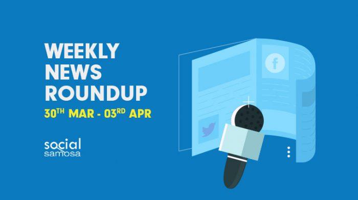 social media news- April 1st week