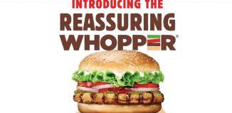 Burger King India #ReassuringWhopper