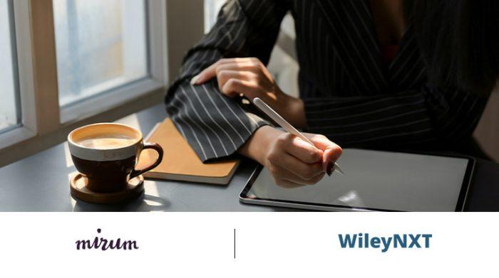 Mirum India and WileyNXT