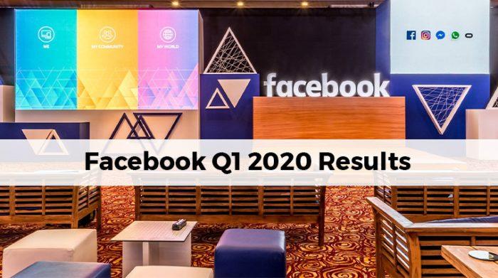 Facebook First Quarter 2020