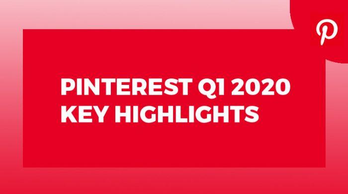 Pinterest Q1 2020