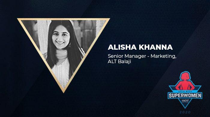 Superwomen 2020 Alisha Khanna