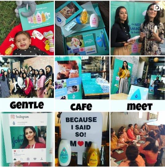 Johnson's Baby India Social Media Strategy Instagram grid 1
