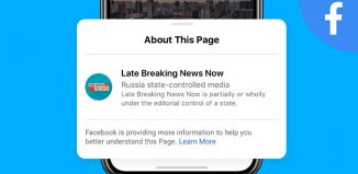 Facebook state-controlled media