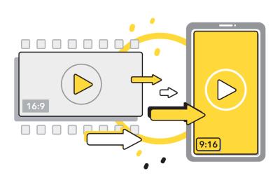 Vertical Video Conversion