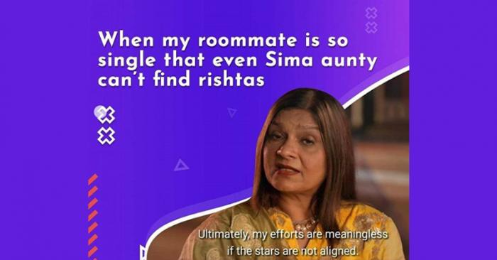 Sima Aunty brand posts