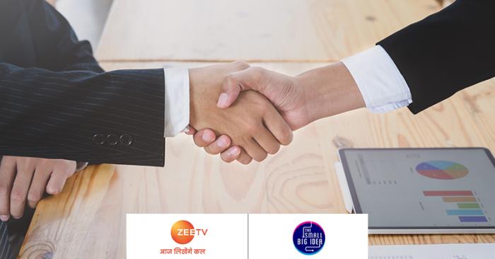 TheSmallBigIdea & Zee TV