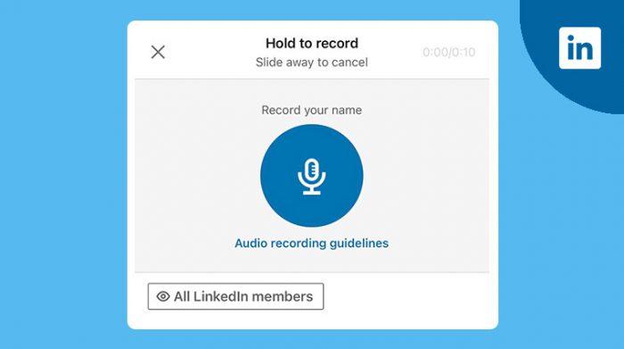 LinkedIn name pronunciation
