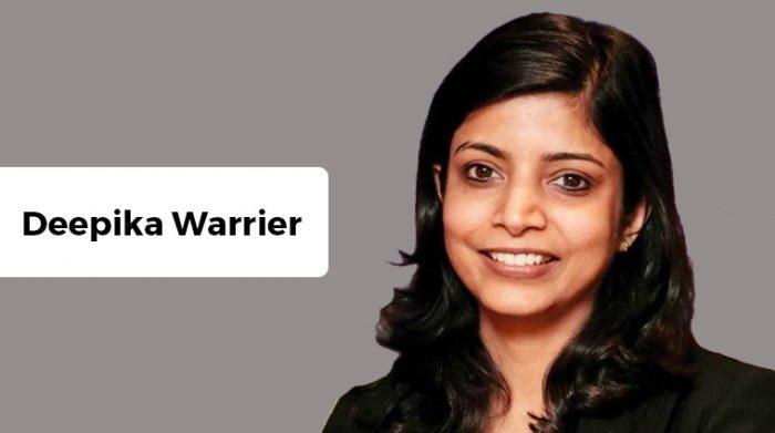 Deepika Warrier Diageo India