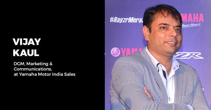 Vijay Kaul Yamaha India interview