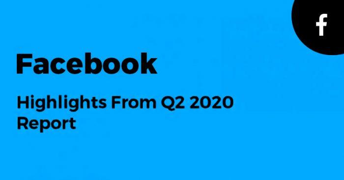Facebook Q2 2020