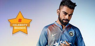 Virat Kohli Celebrity Brands