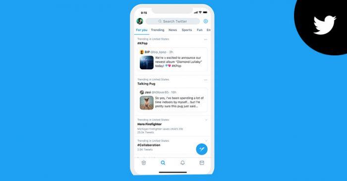 Twitter trends context