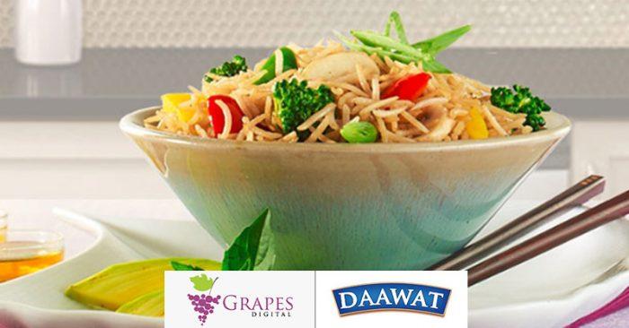 Grapes Digital & Daawat Basmati Rice