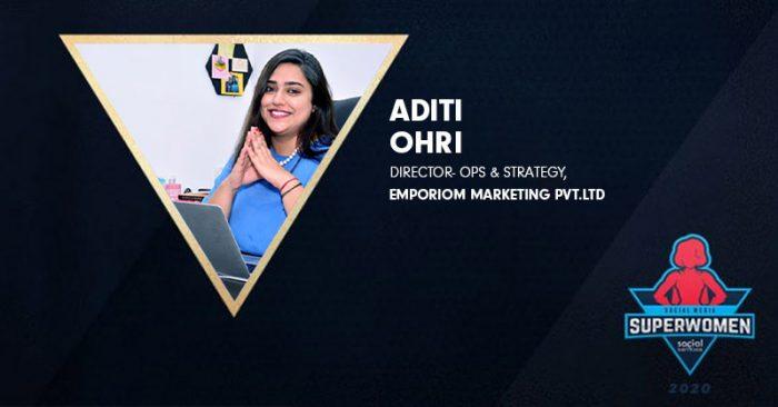 Aditi Ohri Emporioum #superwomen2020