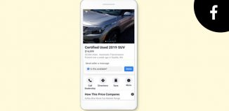 Facebook automotive ads