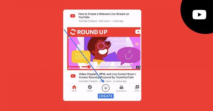 YouTube India create icon