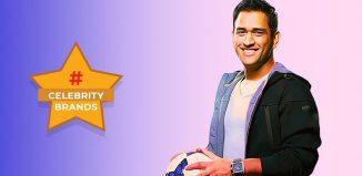 Mahendra Singh Dhoni social media celebrity brand