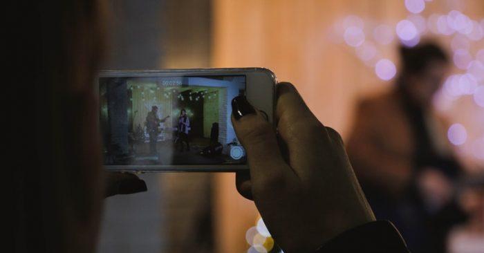 shoot videos professionally