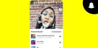 Sounds Snapchat