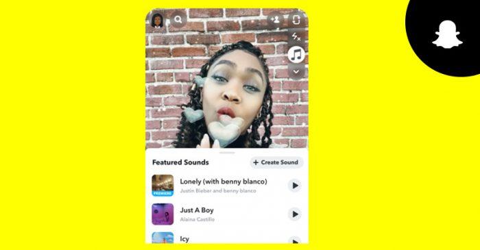 Snapchat Universal Musict
