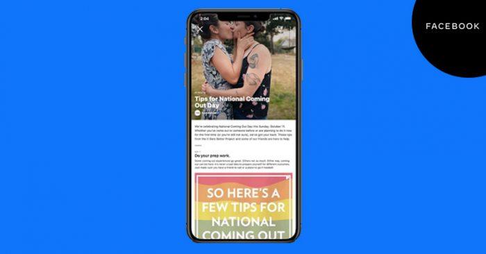 Facebook LGBTQIA+