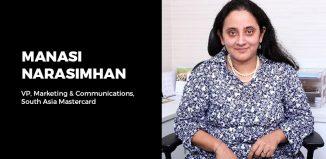 Manasi Narasimhan, VP, Marketing & Communications, South Asia, Mastercard