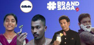 Gillette India advertising journey