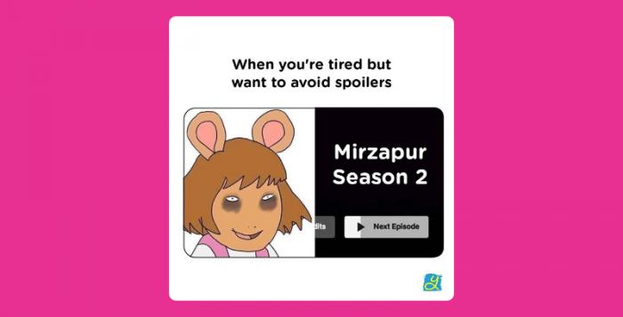 Mirzapur 2 brand posts