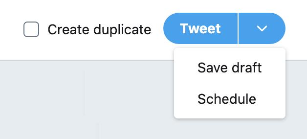 Tweet composer