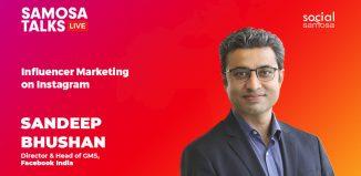 Sandeep Bhushan - Influencer marketing on Instagram
