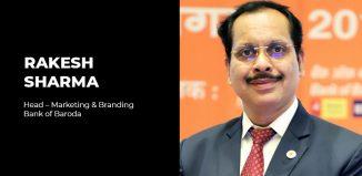 Rakesh Sharma Bank of Baroda