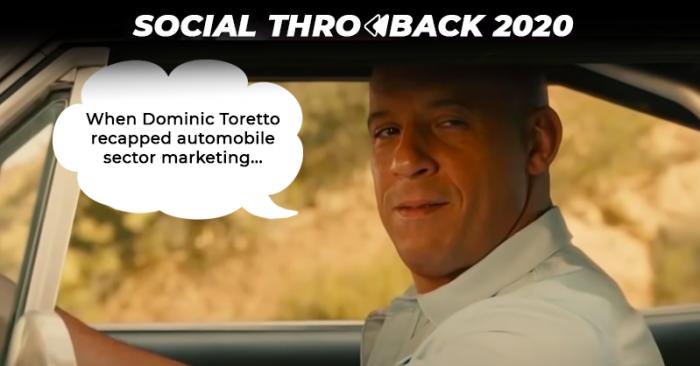 Automobile Sector marketing 2020