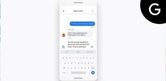 Google Maps messaging