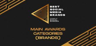 Best Social Media Brands 2020- Main Awards Categories for brands