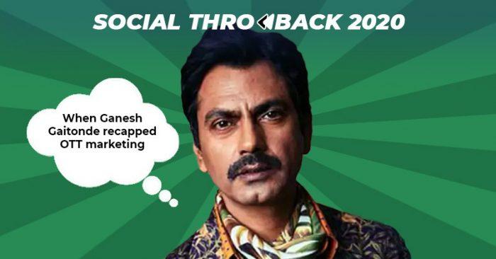 Ganesh Gaitonde OTT marketing